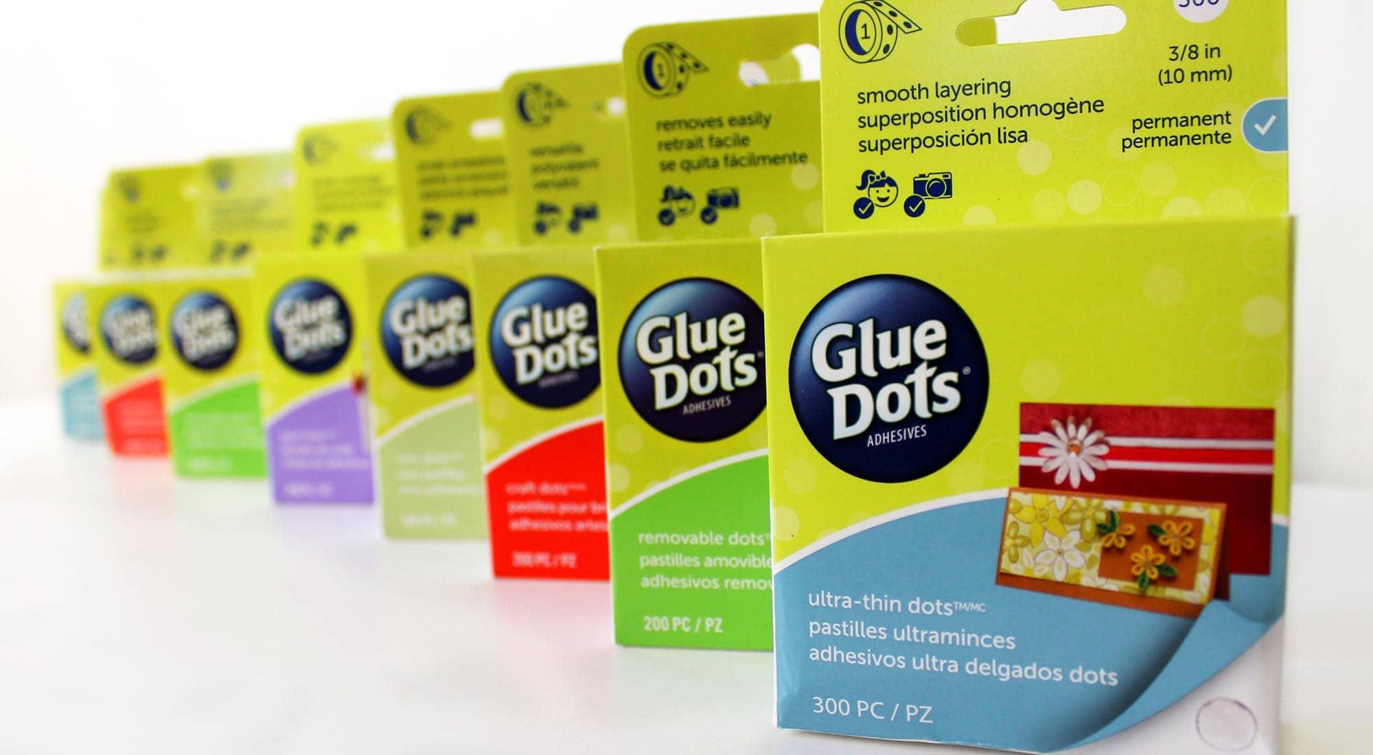 Glue Dots boxes