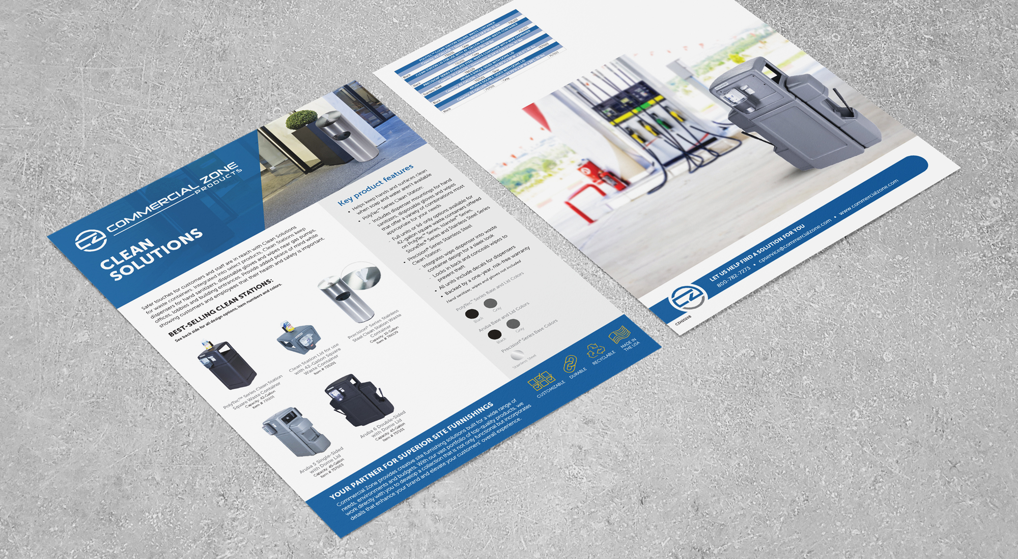 Clean Solutions Sell Sheet